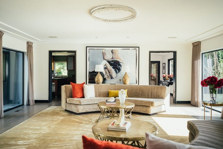 inside adam lambert's house in hollywood hills