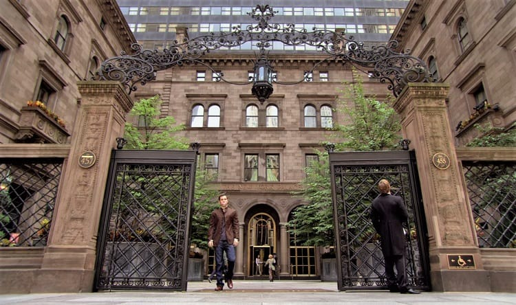 the palace hotel in gossip girl.