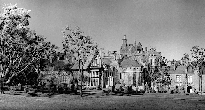 The fictional Manderley estate in Alfred Hitchcock's 'Rebecca'
