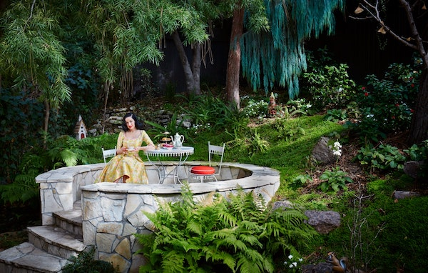 Dita Von Teese house los angeles
