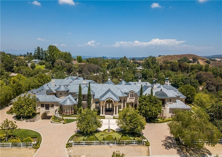 Jeffree Star's mansion in Hidden Hills