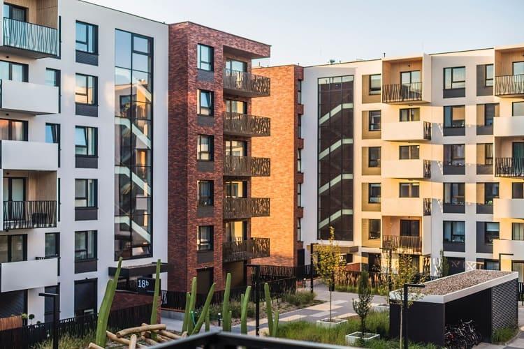 condo buildings in community