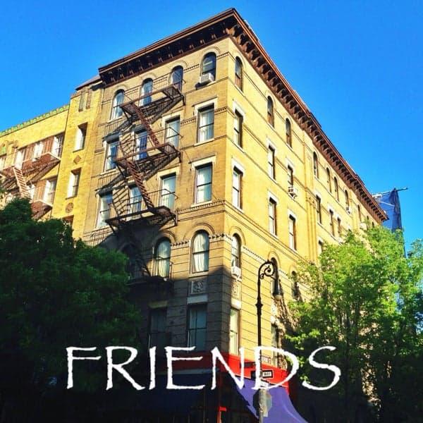 friends apartment building