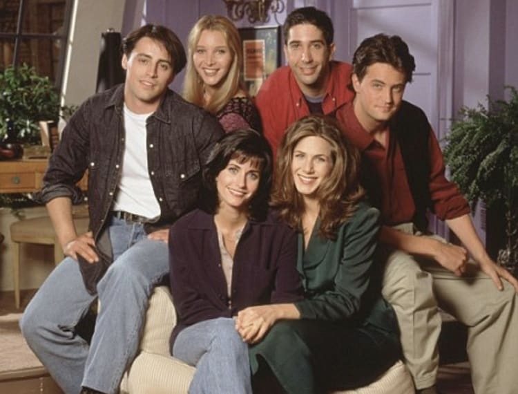 friends cast in the apartment