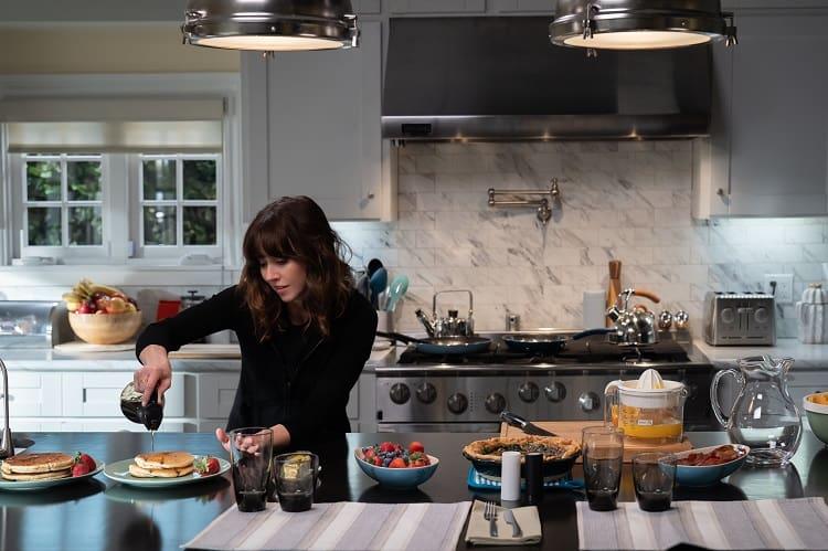 Scene from Jen's house in Dead to Me