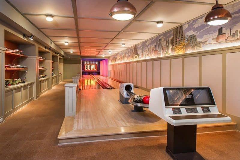 lady gaga's bowling alley