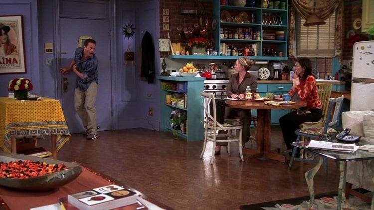 monica's apartment in friends