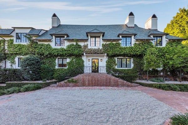 Ellen DeGeneres & Portia de Rossi's home in Beverly Hills