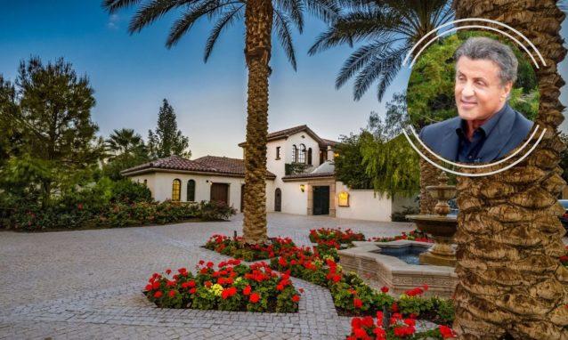 Sylvester Stallone house