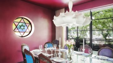 historic synagogue converted in rental