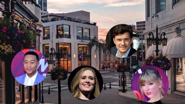 celebrities living in beverly hills