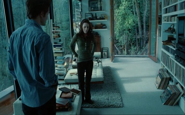 Is It Real Edward Cullen S Sleek Glass House In The Twilight Saga