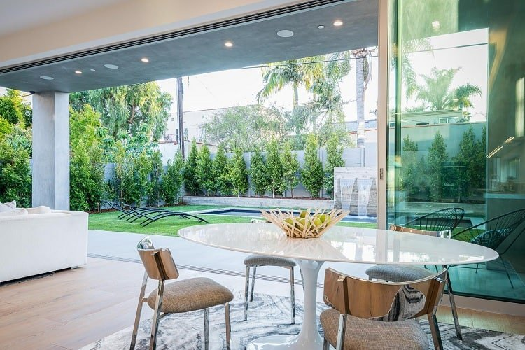 The 'Gallery House' in Beverly Hills, CA