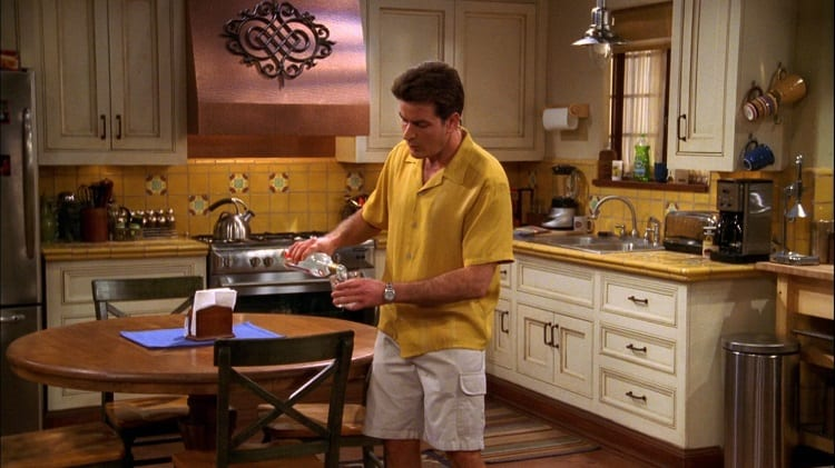 two and a half men kitchen