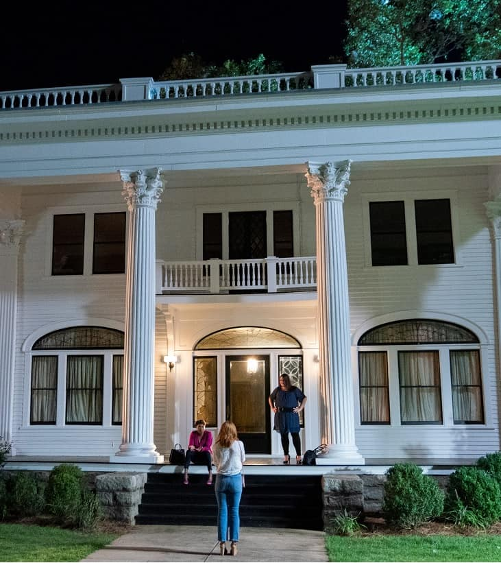 the spa/house in sweet magnolias