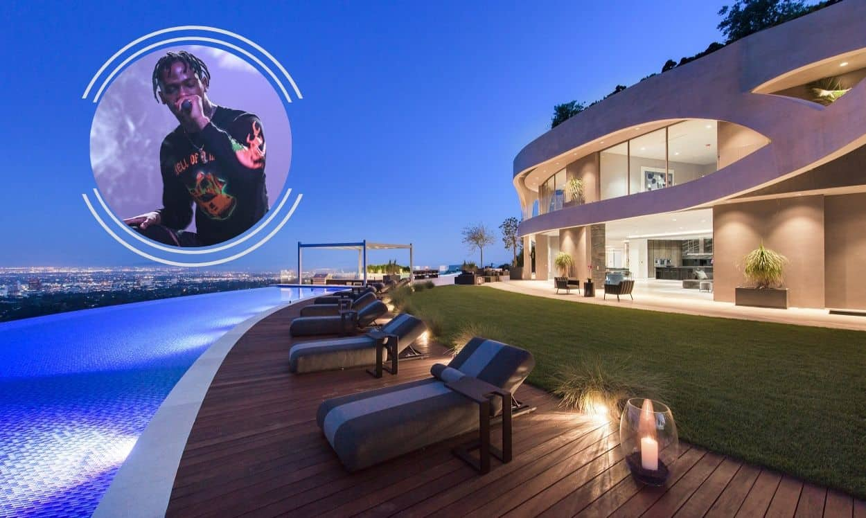 travis scott house in los angeles