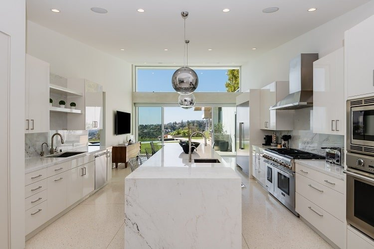 kitchen of Luxury home for sale in Beverly Hills, CA