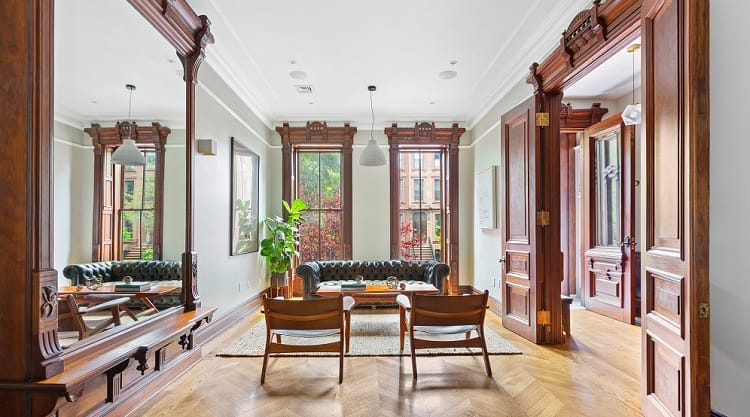 restored townhouse in bed-stuy brooklyn