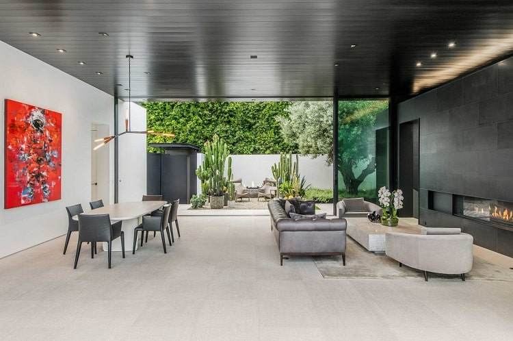 Inside Andrew Modlin's contemporary house in Los Angeles