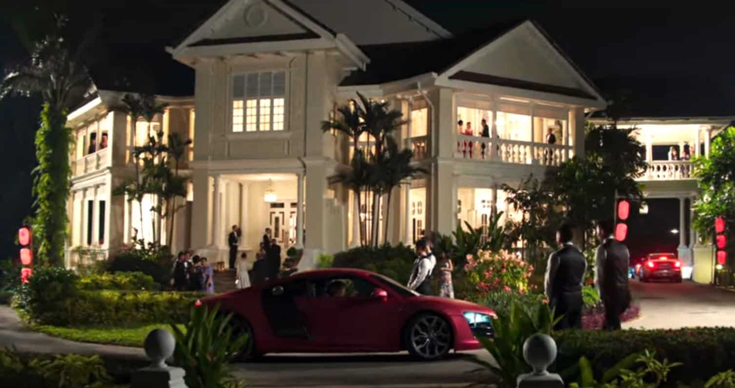 the house of the youngs in crazy rich asians