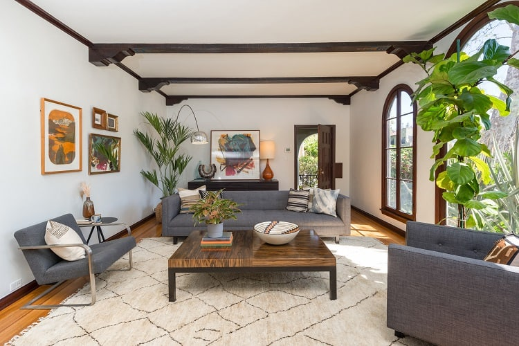 los angeles duplex featured in many TV shows