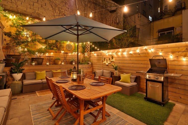 brooklyn condo with gorgeous backyard