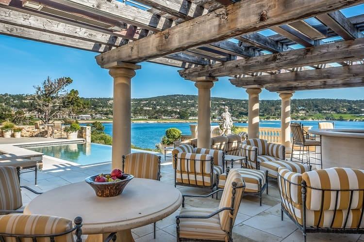 Luxury coastline home for sale in Pebble Beach, CA