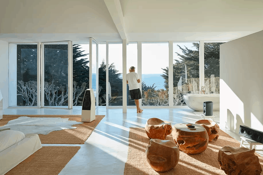 Rick Rubin's Malibu home