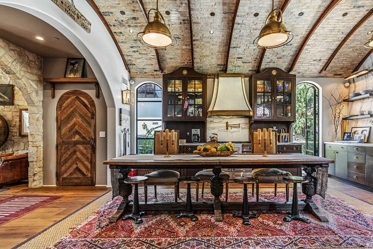 Morgan Brown's exquisite home in West Hollywood.