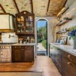 morgan brown's exquisite kitchen with a La Cornue range