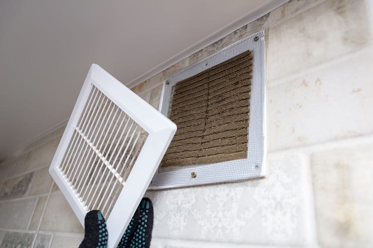 checking the air filters in your home