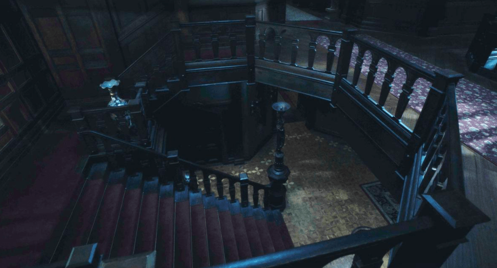 inside the house from 'the haunting of hill manor'