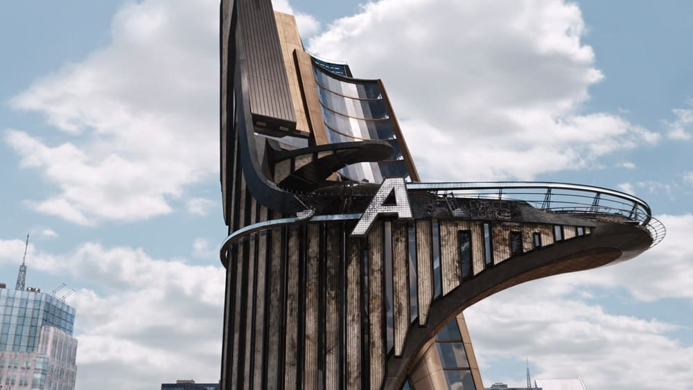 avengers tower getting destroyed in the first movie
