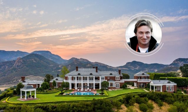 wayne gretzky house in california for sale