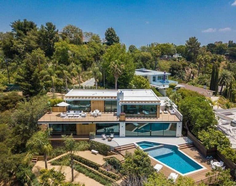 Daniel Ricciardo's home in Los Angeles