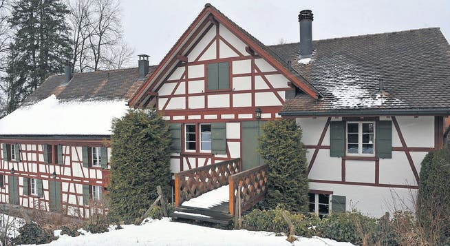 Sebastian Vettel's farmhouse  in Thurgau