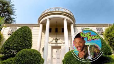 fresh prince of bel air house