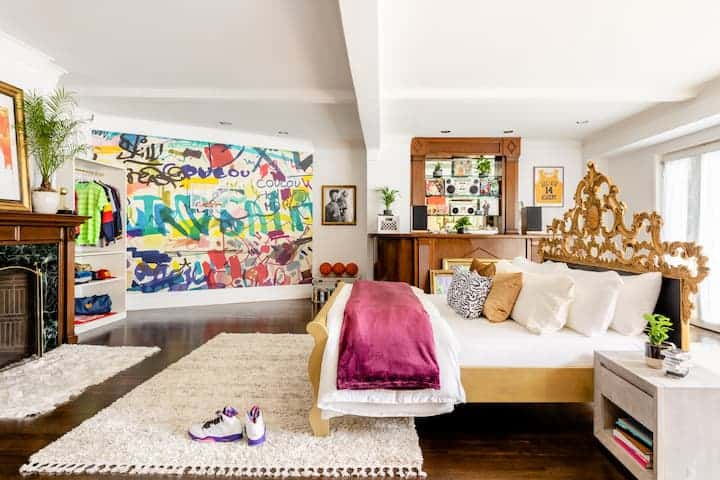 Inside the house from Fresh Prince of Bel Air