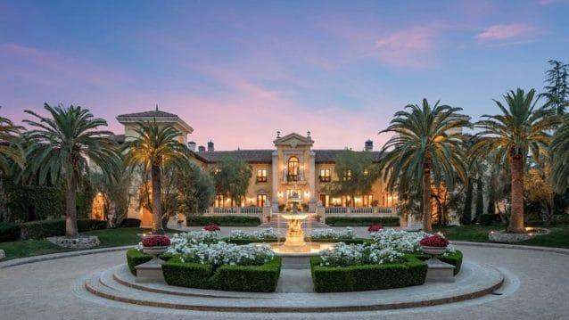 $160 million villa firenze in north beverly hills