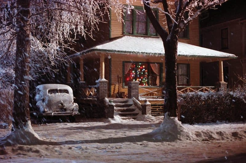 Ralphie's home in A Christmas Story