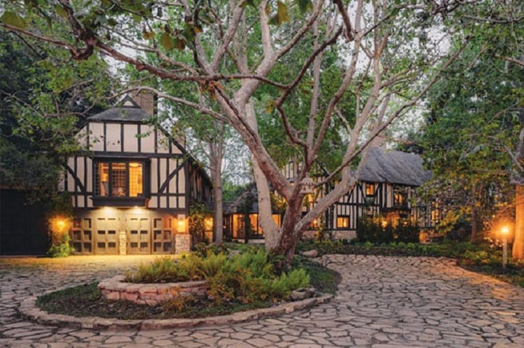 Ariana Grande's house in Montecito.