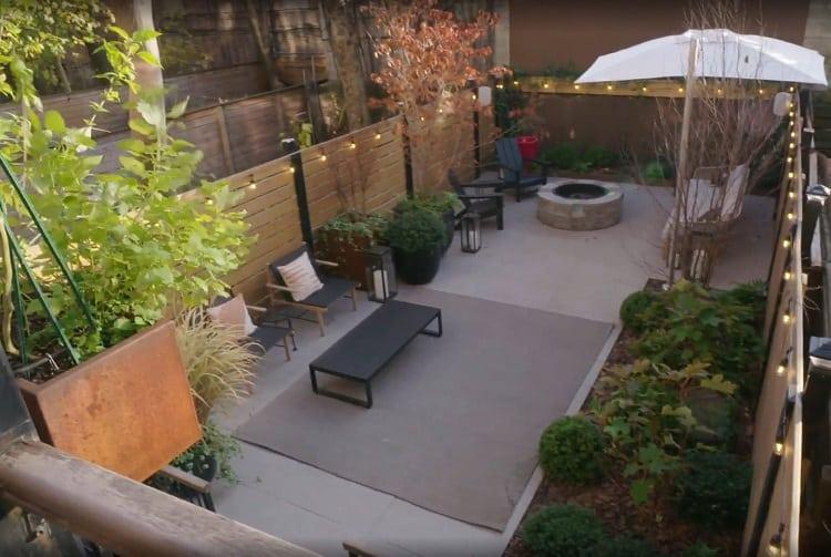 babish's backyard patio