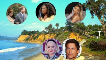 biggest celebrities living in montecito california