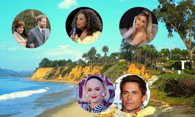 biggest celebrities living in montecito california