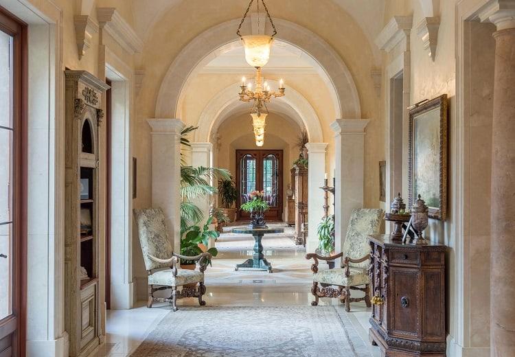 inside the $160 million villa firenze in beverly park