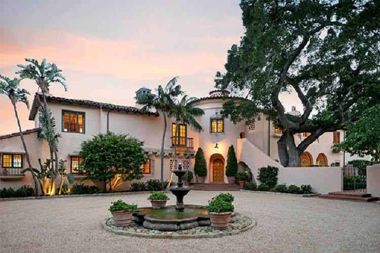 katy perry and orlando bloom house in montecito