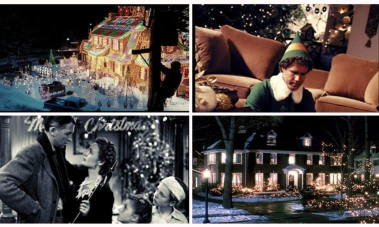 most beautiful homes in christmas movies