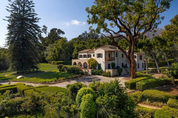 rob lowe house in montecito