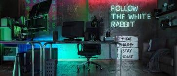 The Matrix home office   Fancy Pants Homes