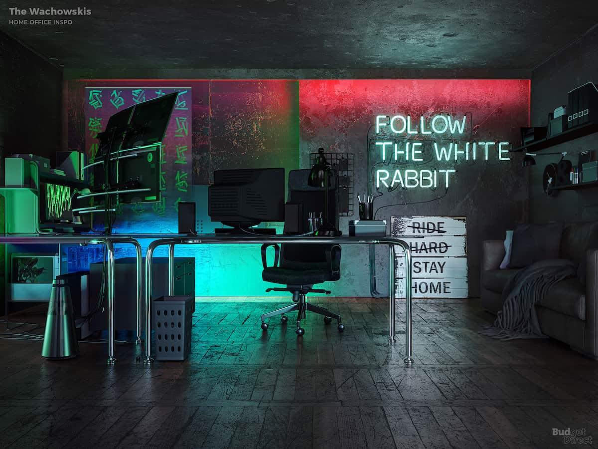 The Matrix home office | Fancy Pants Homes